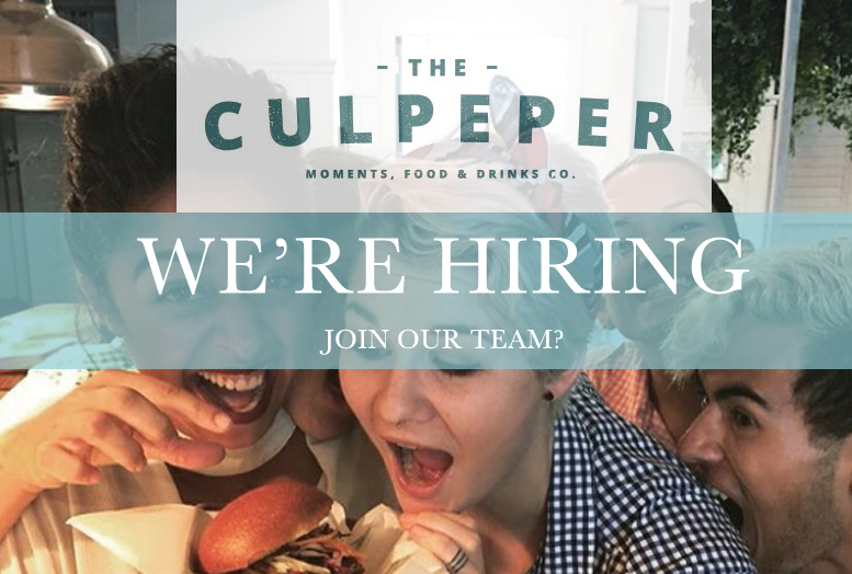 The Culpeper are HIRING